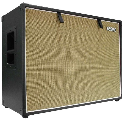 Cab Speaker Cabinet - Seismic Audio - 212 GUITAR SPEAKER CABINET EMPTY - 7 Ply Birch - 12