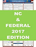 2017 North Carolina State and Federal Labor Law Poster 24'' x 36''