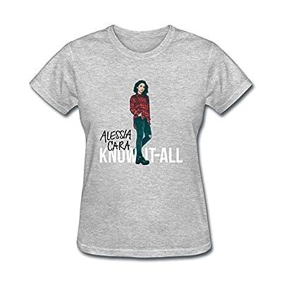 SDAKGF Women's Alessia Cara T Shirt XXL