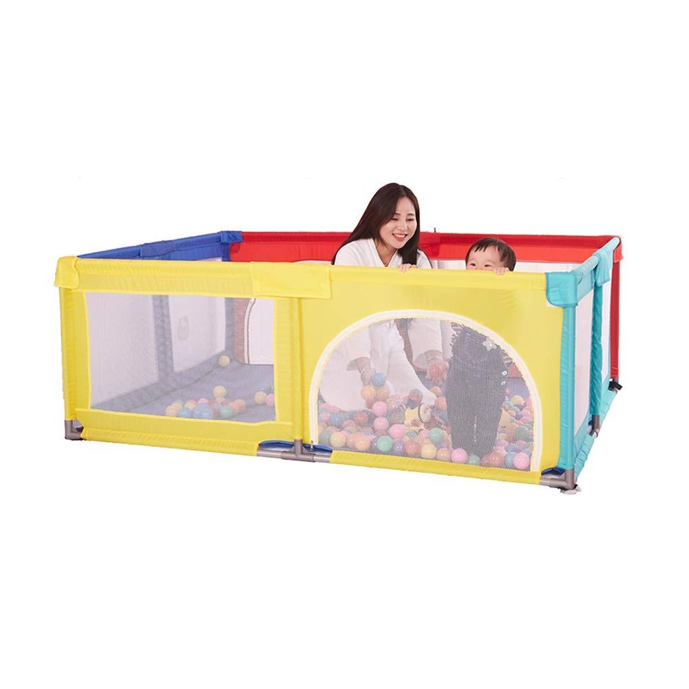 上品なスタイル 100ボールとクロールマット、家庭用屋内ゲームフィールド-120×190×70CMの携帯用赤ん坊の塀 B07Q3JQBCP B07Q3JQBCP, ブランドショップ ゴーガイズ:4a7a3c89 --- a0267596.xsph.ru