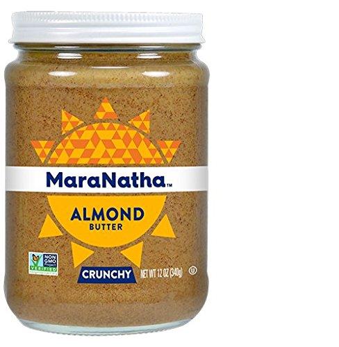 Maranatha Roasted Almond Butter - MaraNatha All Natural Crunchy Almond Butter, No Stir, 12 oz