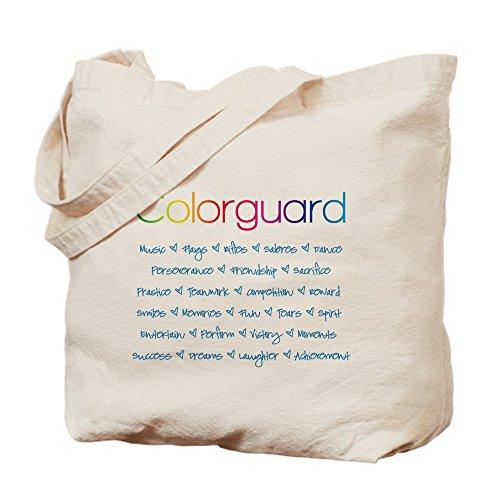 Directors Showcase Cotton - CafePress Colorguard Natural Canvas Tote Bag, Cloth Shopping Bag
