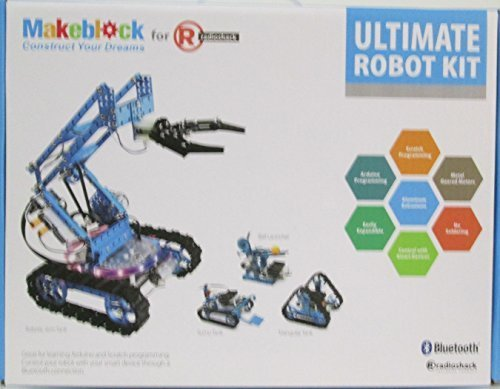 Makeblock Ultimate Robot Building Kit for Radioshack by Makeblock (Image #1)