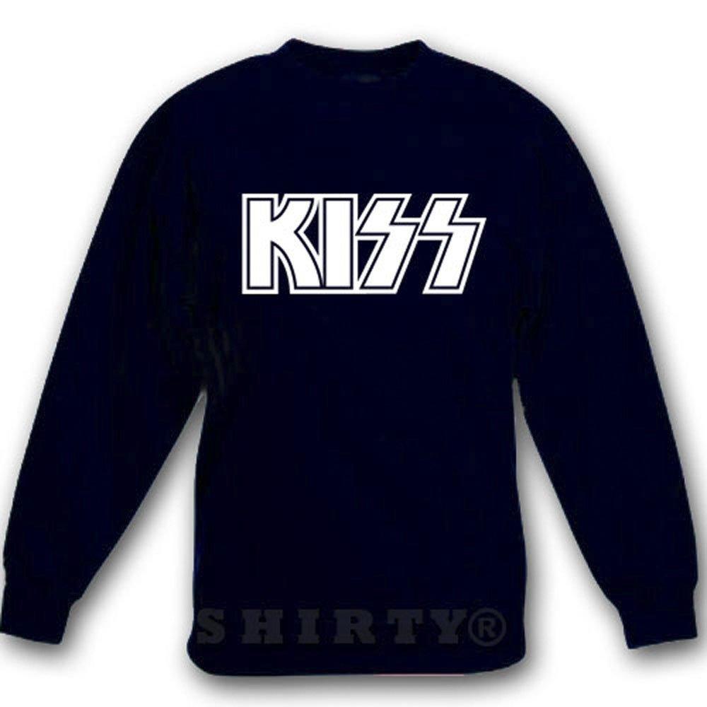 Kiss 2 - Sweat - Shirt - schwarz - S bis 5XL - 1055