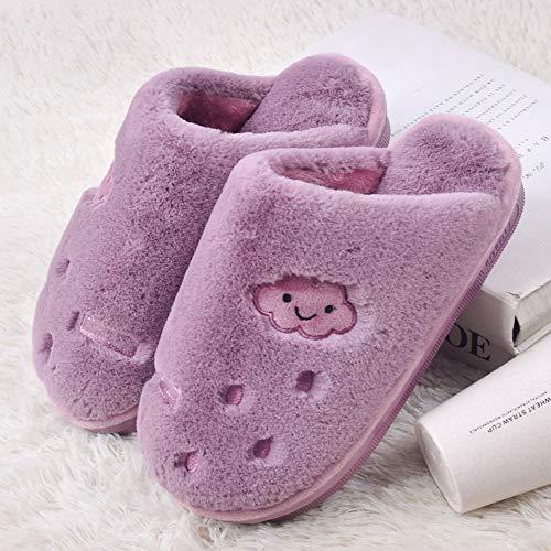 Pour Pantoufles Intérieures Doux Extérieures Femmes En Bas Talon À Chaussures Tissu Antidérapantes WwrASp8wvq