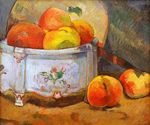 kunst für alle Art Print/Poster: Paul Gauguin Nature Morte aux pêches Picture, Fine Art Poster, 35.4x29.5 inch / 90x75 cm
