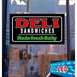 Deli Sandwiches LED Light Up Sign