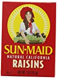 Sun Maid Natural California Raisins, 6-Count (Pack of 4)