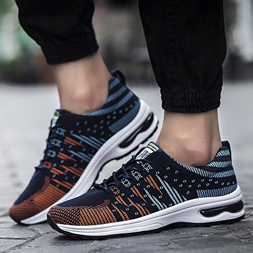 Athletic 66 Flyknit Blue Running US Sneakers Lightweight Air No 6 Shoes 5 Town 10 Men's XqR8dnIIw