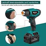Cordless Heat Gun, PRULDE NHG0140 Lithium-ion