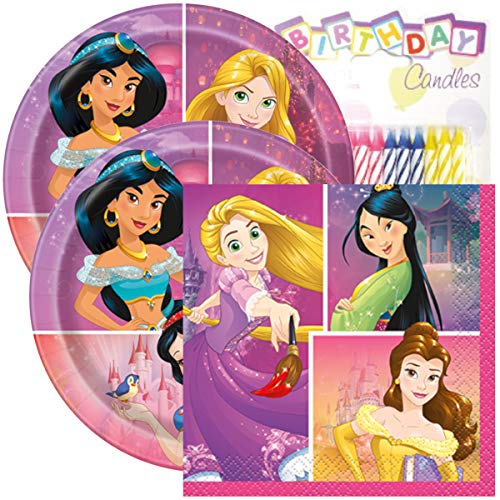Princess Birthday Party Pack - Includes 7