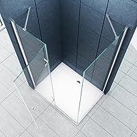 La entrada en curva Cabina de ducha Ducha Stuttgart 120 x 90 x 195 ...