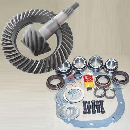 Ford 8.8 Ring Pinion Install - 3.73 RING AND PINION & MASTER BEARING INSTALL KIT - COMPATIBLE WITH FORD 8.8 IRS