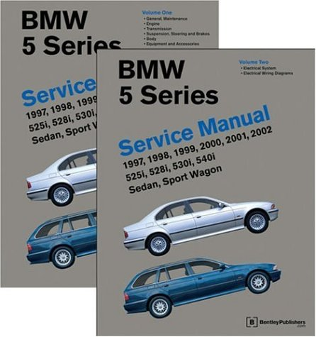 Bmw 5 Series Cross (BMW 5 Series (E39) Service Manual: 1997-2002 (2 volume set))