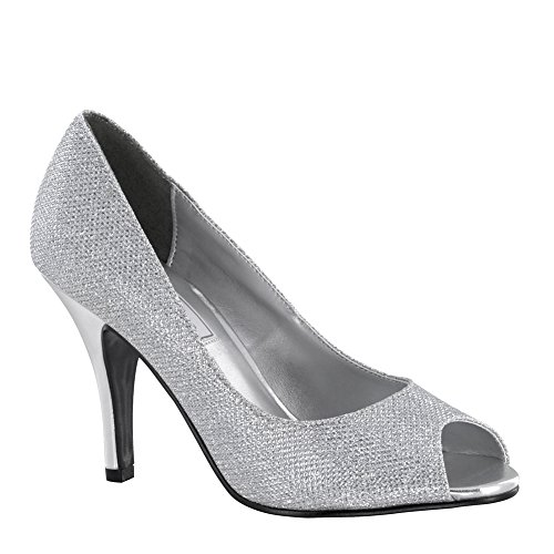 Shoes Women's Ice Ups Touch Pumps Silver Glitter xYwaO5TqB