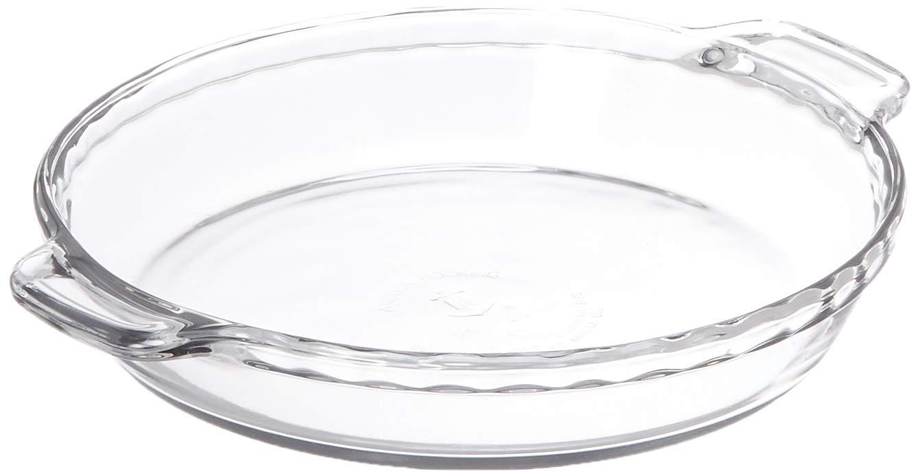 Anchor Hocking Oven Basics Deep Pie Plate Ceramic White, 9.5 inch - Set of 3