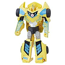 TRANSFORMERS Robots in Disguise Combiner Force 3-Step Changer Power Surge Bumblebee Action Figure