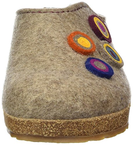 Adulti Unisex Beige 550 torf Kanon Haflinger Grizzly Pantofole HpdqW4w