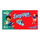 Pampers Easy Ups for Boys 88 Count, Size 4 (2T-3T)