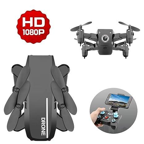 Rclhh Cámara Dron para Adultos,Cámara HD De Gran Angular 1080P ...