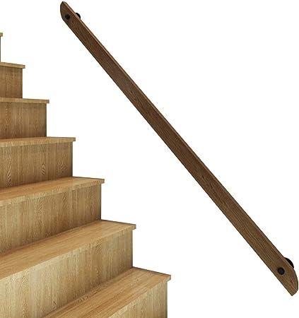 Antideslizante Barandilla de barandilla de escalera de 30-300 cm, barandilla antideslizante de madera maciza, barandilla de seguridad de pino diseñada para ancianos y niños, adecuada para áticos, es: Amazon.es: Hogar