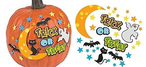 (12 - Trick or Treat Pumpkin decorating craft kits)