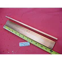 """3//16/"""" Thick x 1.0/"""" Wide x 36 Inch Length 110 Copper Bar 1//2 Hard"""