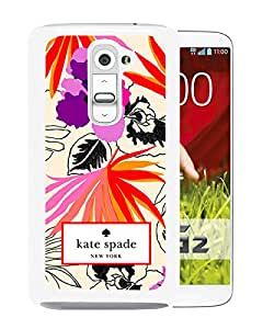 Newest Kate Spade LG G2 Case ,Popular And Unique Designed Kate Spade Cover Case For LG G2 White Phone Case 28