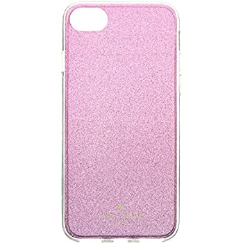 Kate Spade York Women s Glitter Ombre Phone Case for iPhone 8 Rasberry  Multi One Size ac79e829f7