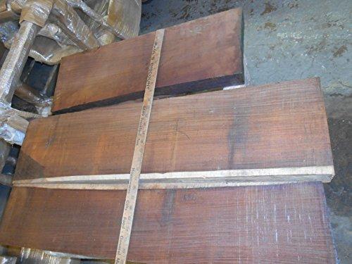 (5 board feet of quartersawn cocobolo rosewood, true rosewood, kiln-dried)