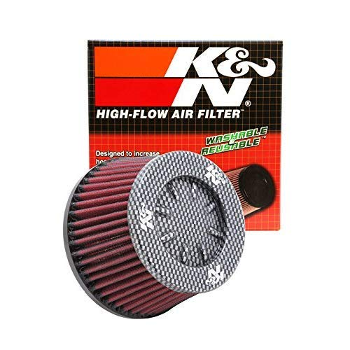 114 mm K/&N RC-5153 Universal Clamp-On Air Filter: Round Tapered; 3.938 in Flange ID; 3.25 in Base; 4.5 in Height; 5.5 in 140 mm 83 mm Top 100 mm