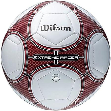 Wilson Balon de Futbol Extreme Racer Red SZ 5: Amazon.es: Hogar
