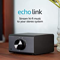 Amazon Echo Link Stream Hi-Fi Music To Your Stereo System