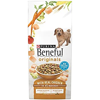 Purina Beneful Originals With Real Chicken Dry Dog Food - 15.5 lb. Bag