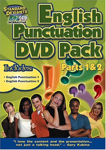 The Standard Deviants - English Punctuation 2-Pack