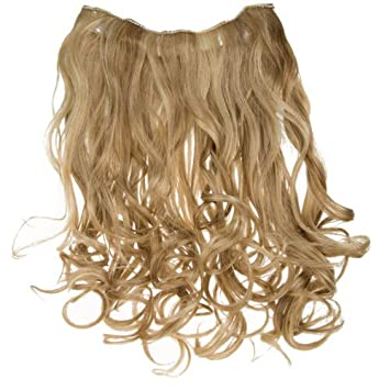 Put On Pieces Clip In Extensions Wavy 2pc Ginger Blonde