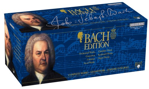 Bach Edition: Complete Works (155 CD Box Set) by Brilliant Classics