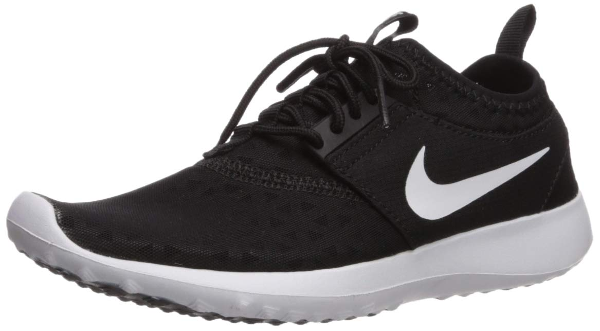 Nike Women's Juvenate Sneaker, Black/White, 5.5 B US