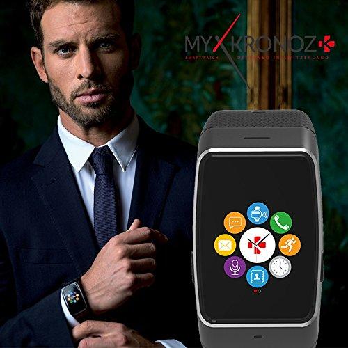 negro Farbe bracelet negro MyKronoz Smartwatch ZEWATCH4 cajafarbe