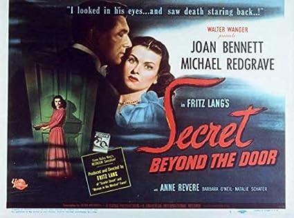 Secret Beyond The Door.Amazon Com Secret Beyond The Door Poster 11 X 14