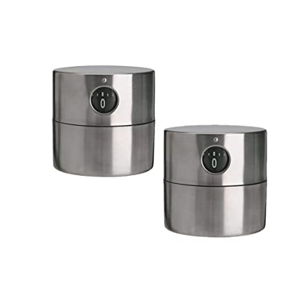 Amazon Com Ordning Ordning Timer 2 3 8 Stainless Steel 2 Pack