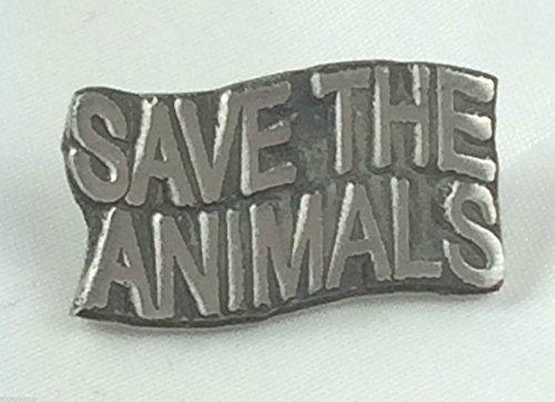 Enregistrer les Animaux-Animaux-Fabriquéà la main au Royaume-Uni-Gifts Épinglette en Étain