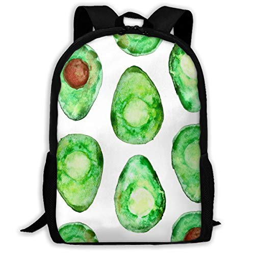 Backpack Water Resistant Men Women Hiking Daypack (med Scale) More Avocados Please_1303 Travel Backpack