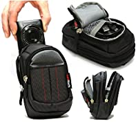 Navitech Black Digital Camera Case Bag Cover For The PowerLead PL2803 2.7inch 18MP Mini Digital Camera