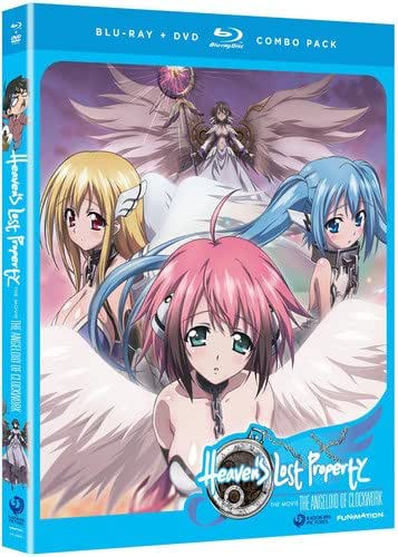 Heaven's Lost Property: The Angeloid of Clockwork - The Movie