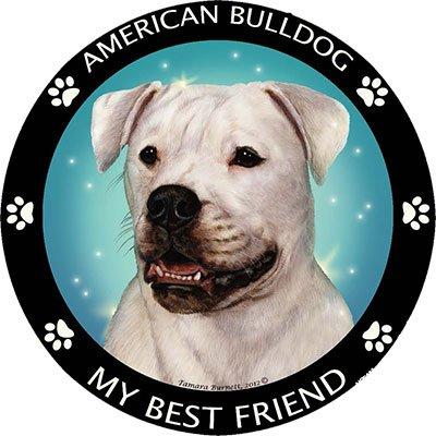 Shirts Refrigerator Magnet (American Bulldog Best Friend Car, Refrigerator Magnet)