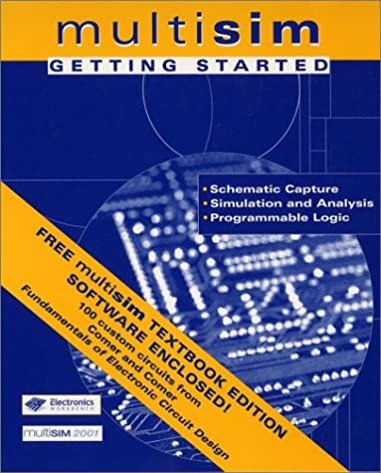 fundamentals of electronic circuit design, getting started multisim