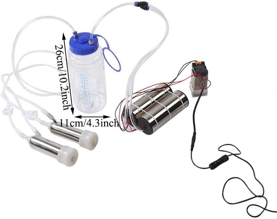Sheep Use mungitrice portatile 5L per pecora mungitore manuale del pollone delle pecore della mucca del bestiame dellacciaio inossidabile con progettazione della serratura Mungitrice