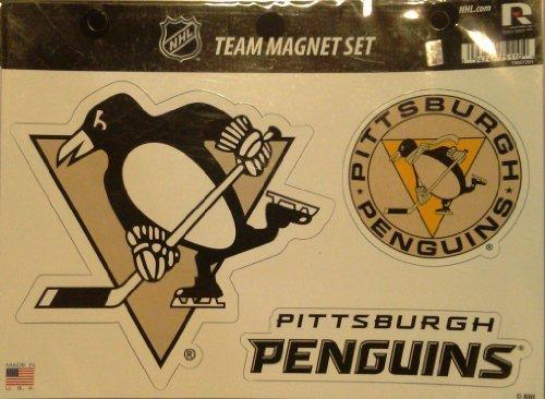 NHL Pittsburgh Penguins Die Cut Team Magnet Set - Magnets Pittsburgh Penguins