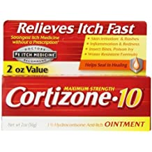 Cortizone-10 Anti-Itch Ointment 2 OZ - Buy Packs and SAVE (Pack of 3)